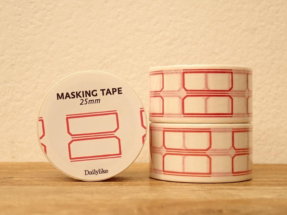 画像1: 【ネコポスNG】 decollections/デコレクションズ マスキングテープ Name tag2