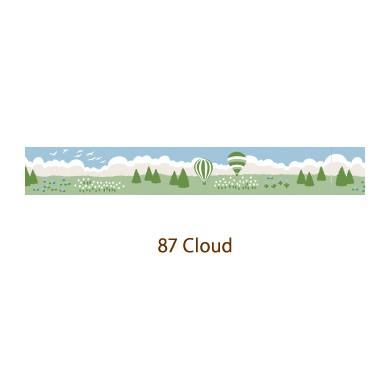 画像2: 【ネコポスOK】 decollections/デコレクションズ マスキングテープ Cloud