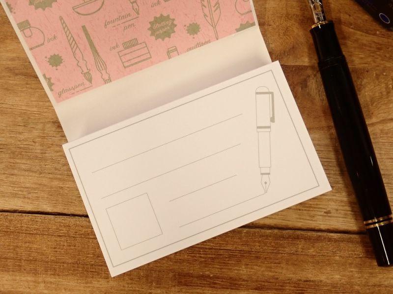 画像3: 【ネコポスOK】 kamiterior inkcard 万年筆