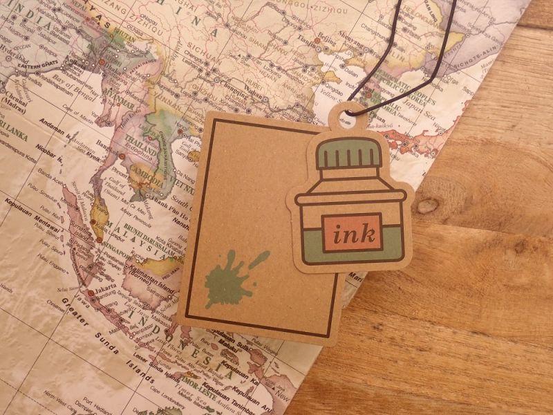 画像1: 【ネコポスOK】 charmcard/チャームカード インク