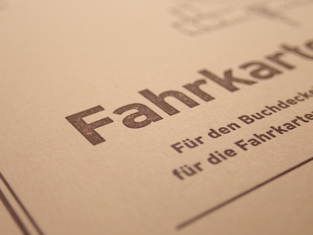画像2: 【ネコポスOK】 Kumpel Fahrkarte Notizbuch/ノート B6 ブラウン/無地