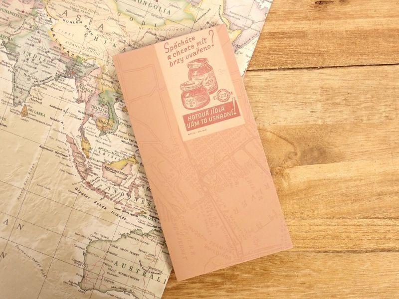画像1: 【ネコポスOK】 メモパッド 地図 C