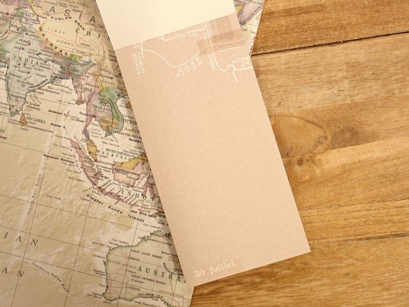 画像4: 【ネコポスOK】 メモパッド 地図 C