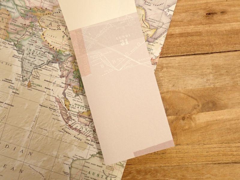 画像3: 【ネコポスOK】 メモパッド 地図 B
