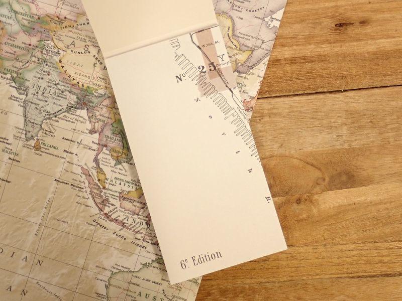 画像2: 【ネコポスOK】 メモパッド 地図 B