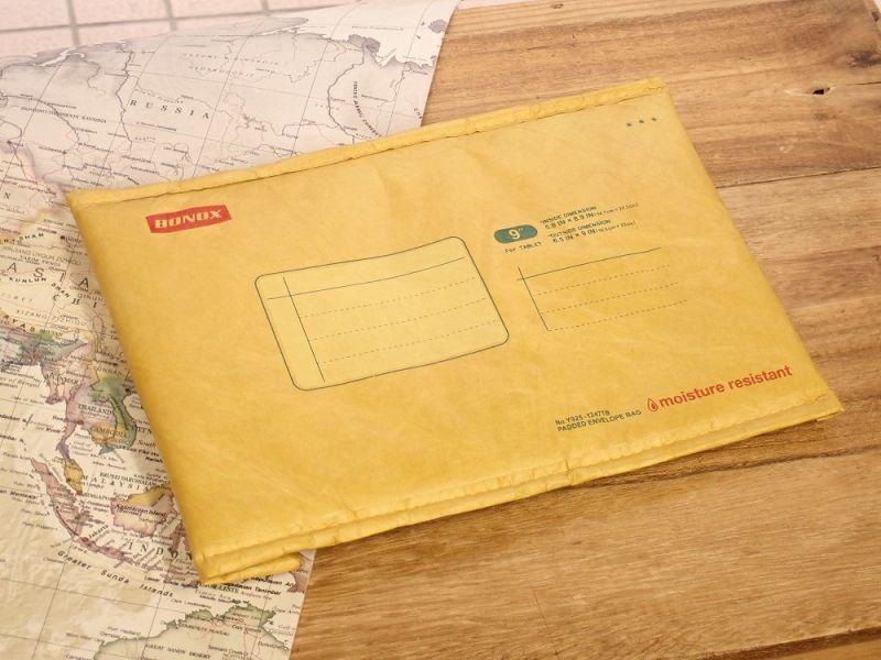 画像1: 【ネコポスOK】 Padded envelope bag For tablet