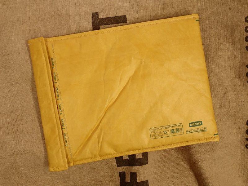 画像2: 【ネコポスNG】 Padded envelope bag For 15inch laptop