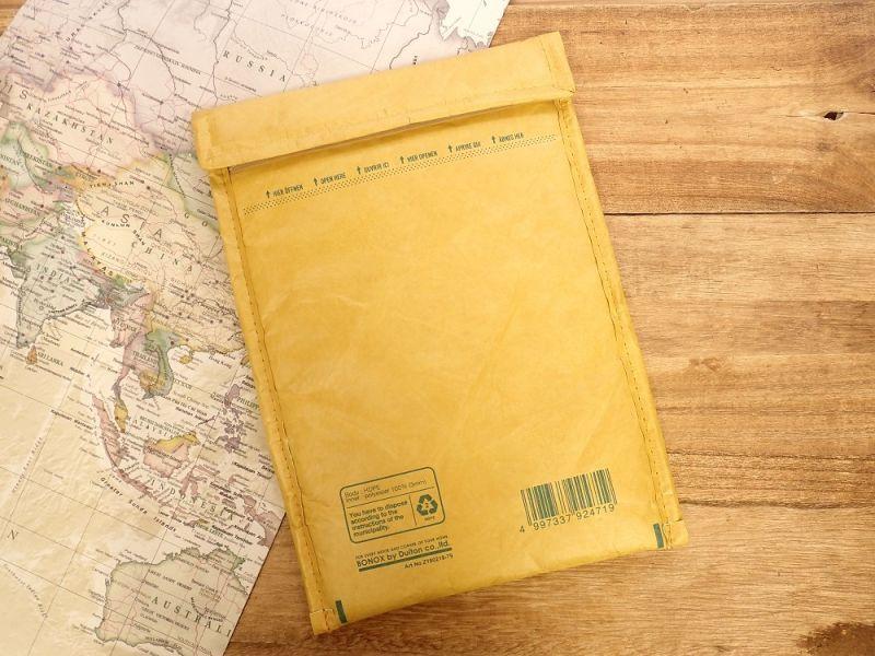 画像2: 【ネコポスOK】 Padded envelope bag For tablet