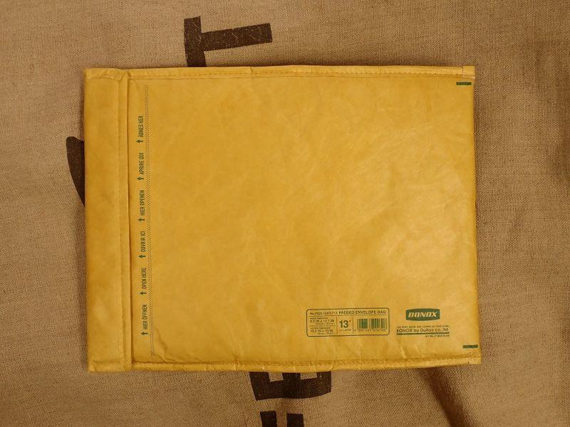 画像2: 【ネコポスNG】 Padded envelope bag For 13inch laptop