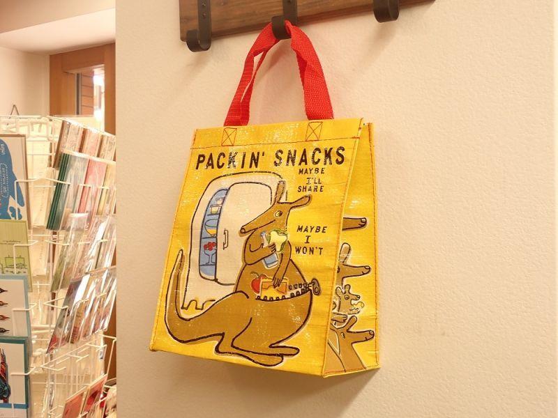 画像2: 【ネコポスOK】 アメリカ Blue Q/ブルーキュー ハンディートート Packin' Snacks