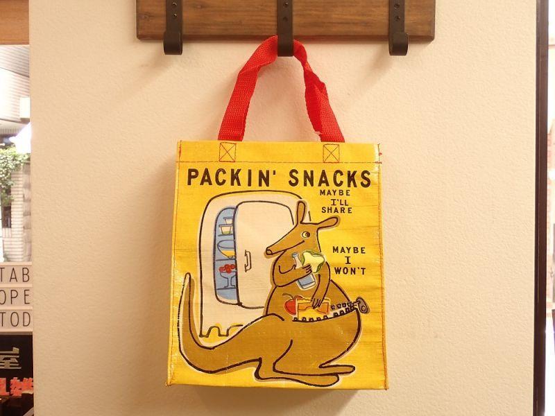 画像1: 【ネコポスOK】 アメリカ Blue Q/ブルーキュー ハンディートート Packin' Snacks