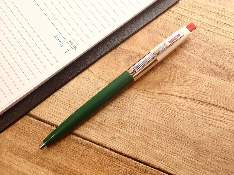 画像2: 【ネコポスOK】 ハンガリー ICO/イコ 70 Retro Pen グリーン