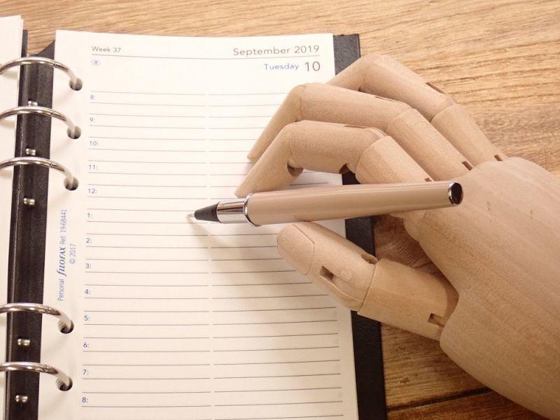 画像3: 【ネコポスOK】 Fluidwriting/フルーイドライティング フェルトペン ポケット オフホワイト