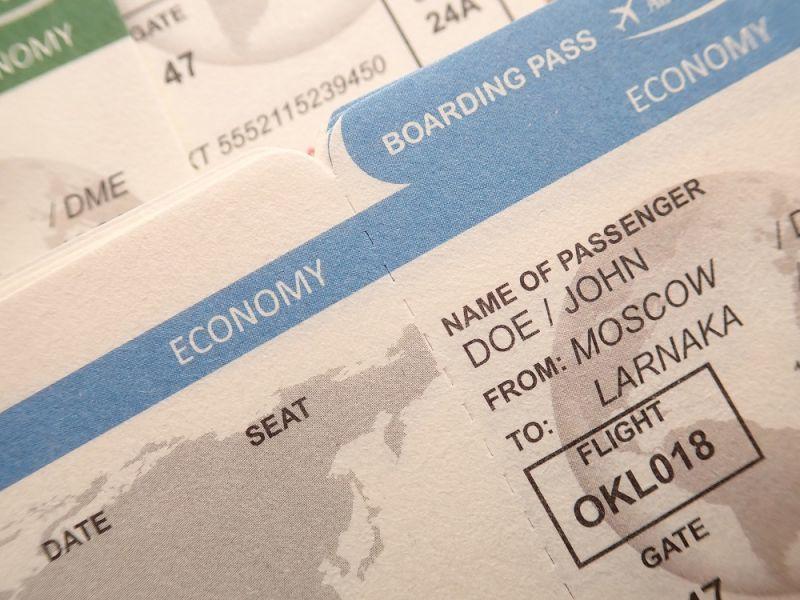 画像3: 【ネコポスOK】 航空チケット メモB