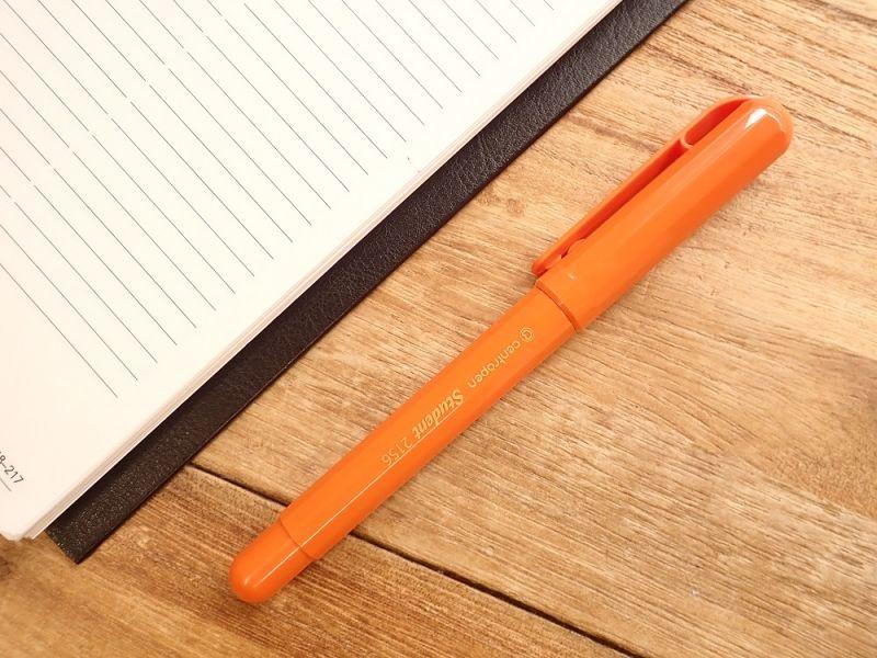 画像1: 【ネコポスOK】 チェコ centropen/セントロペン STUDENT 万年筆 オレンジ