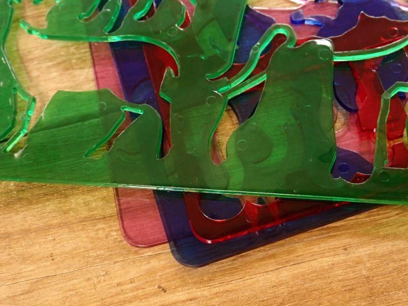 画像2: 【ネコポスOK】 チェコ KOH_I_NOOR/コヒノール テンプレート ファーム