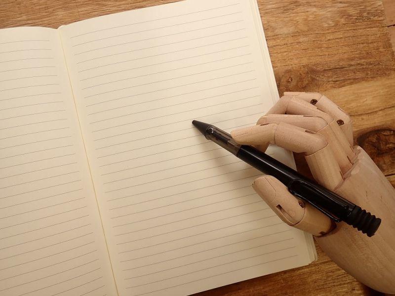 画像3: 【ネコポスOK】 DAYCRAFT Gutenberg Bibel Notebook A5 ブラック