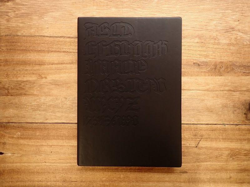 画像1: 【ネコポスOK】 DAYCRAFT Gutenberg Bibel Notebook A5 ブラック