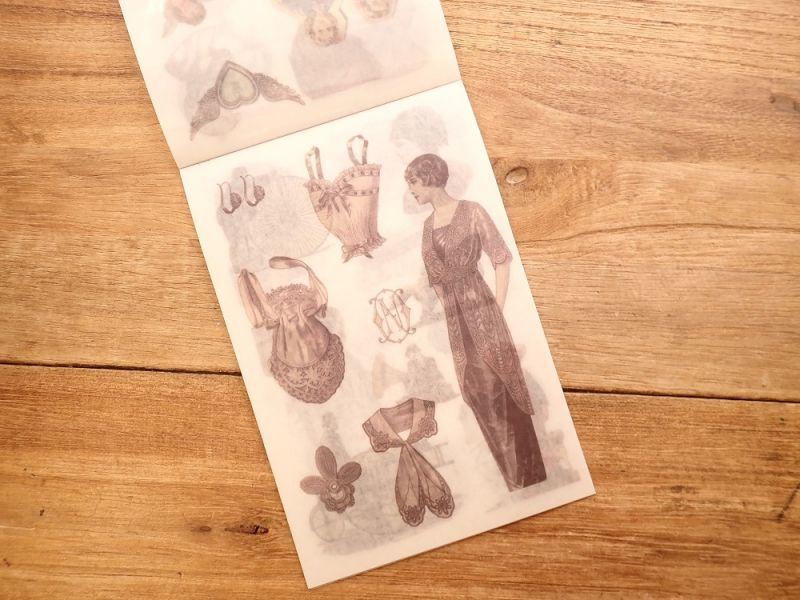 画像4: 【ネコポスOK】 和紙ステッカー ダイカット Modern times