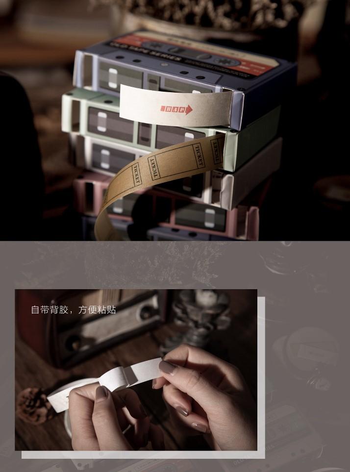 画像2: 【ネコポスOK】 OLD TAPE SERIES 剥離タイプ紙テープ G
