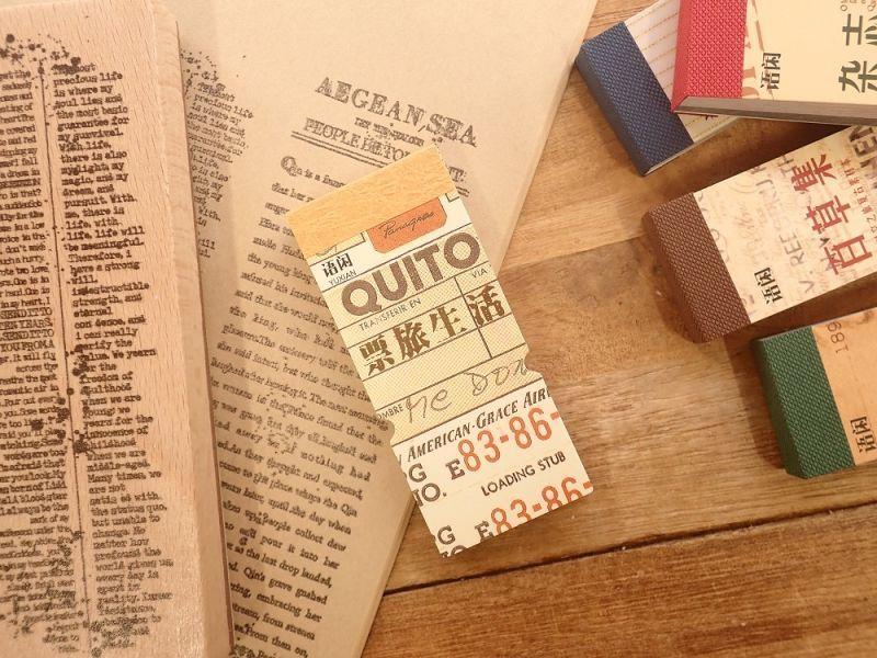 画像1: 【ネコポスOK】 レトロコレクション チケット素材集 チケットB