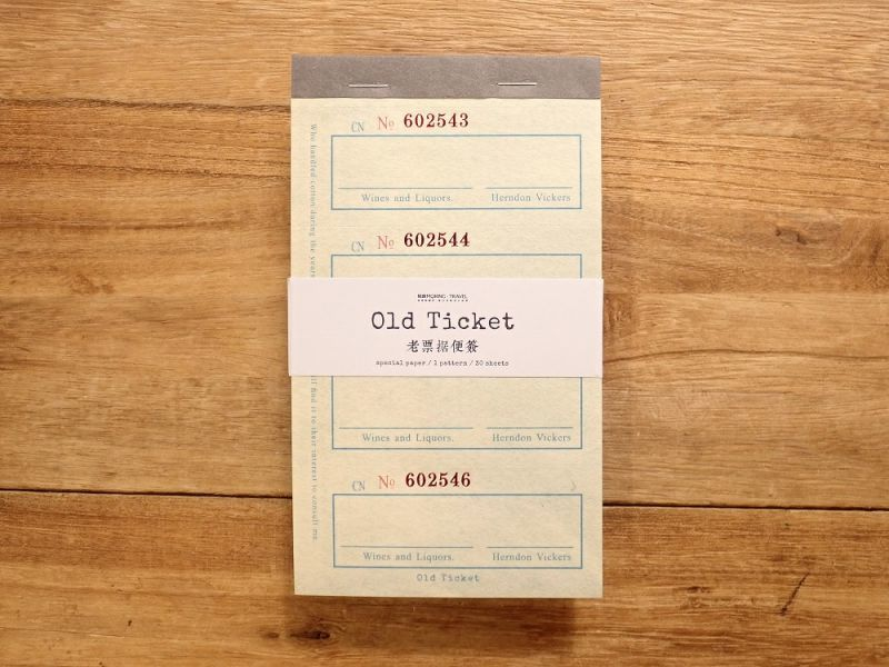画像1: 【ネコポスOK】 Old Ticket ANTIQUE BUS TICKET