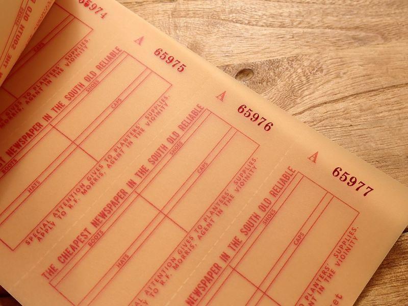 画像2: 【ネコポスOK】 Old Ticket SEND POSTAGE