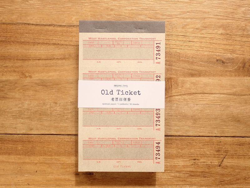 画像1: 【ネコポスOK】 Old Ticket TRANSPORT TICKET