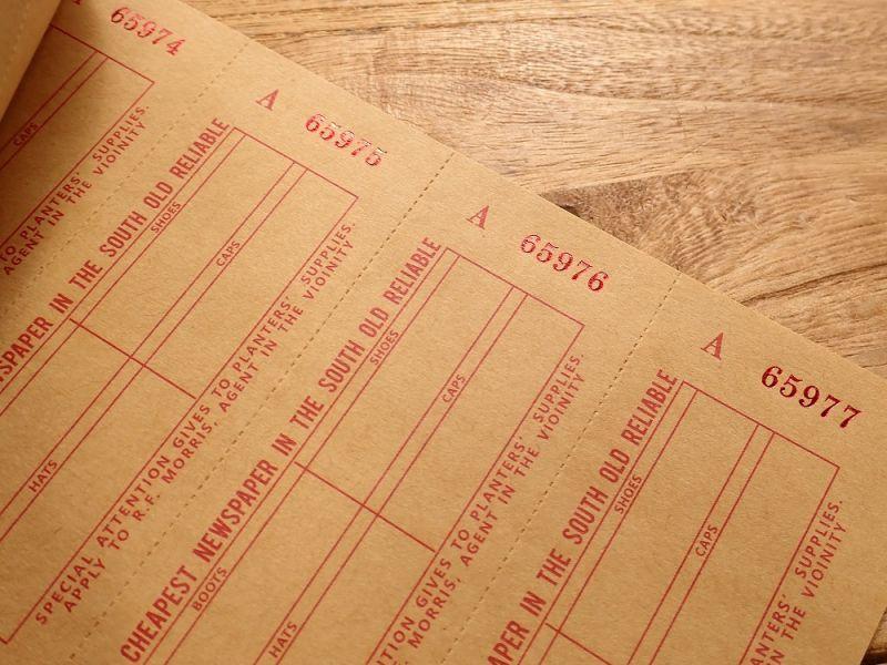 画像3: 【ネコポスOK】 Old Ticket SEND POSTAGE