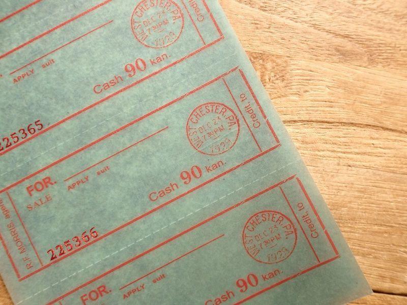 画像2: 【ネコポスOK】 Old Ticket UKRAINIAN TICKET