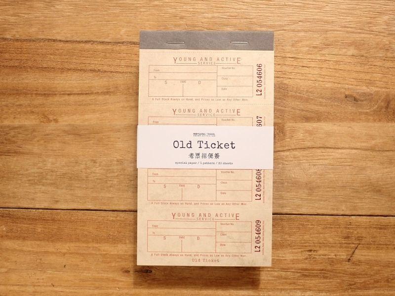 画像1: 【ネコポスOK】 Old Ticket RETURN POSTAGE