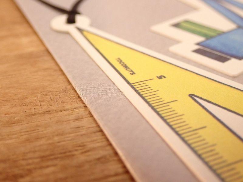 画像2: 【ネコポスOK】 文具デザインブックマーク ペン&ノート