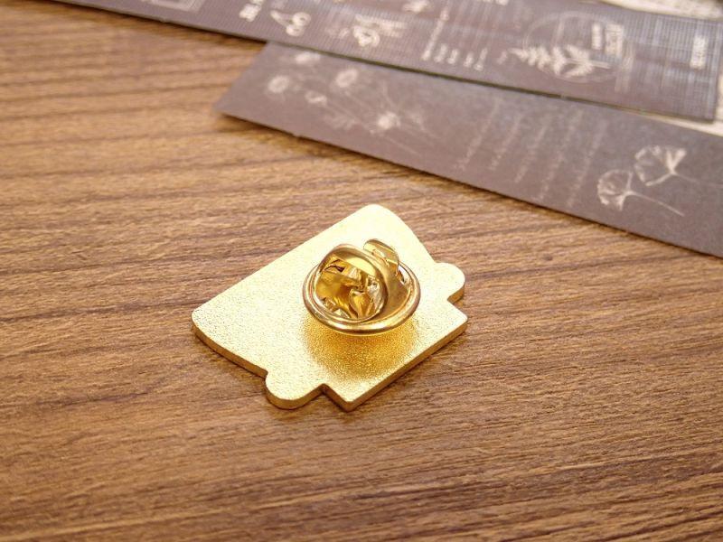 画像2: 【ネコポスOK】 ピンバッジ タイプライターD