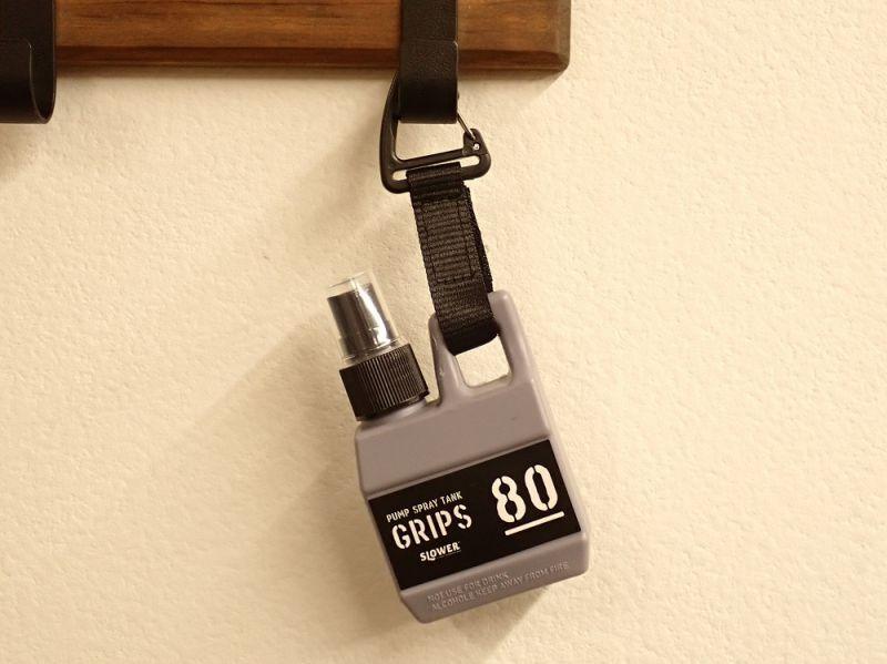 画像1: 【ネコポスNG】 PUMP SPRAY TANK Grips SLOWER スプレーボトル グレー