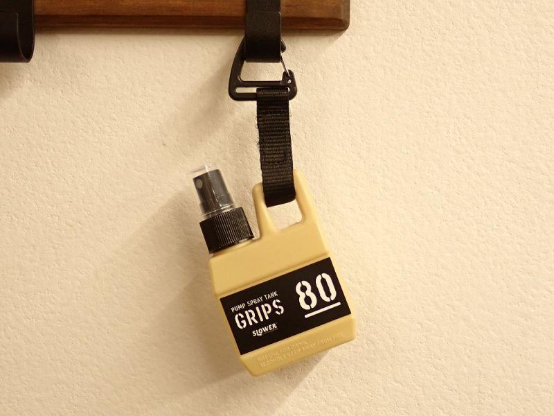 画像1: 【ネコポスNG】 PUMP SPRAY TANK Grips SLOWER スプレーボトル ベージュ