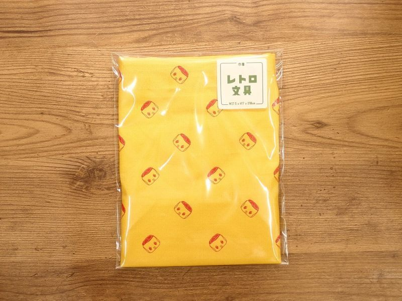画像1: 【ネコポスOK】レトロ文具 巾着 フエキ