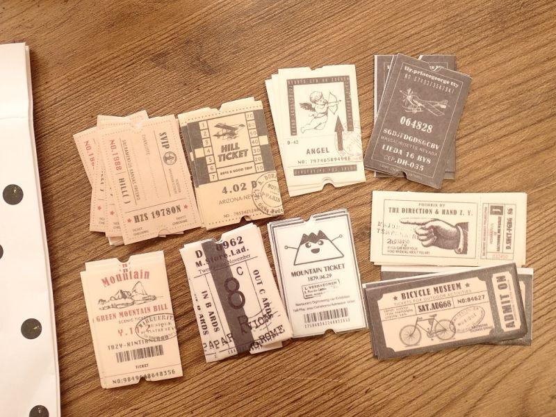 画像1: 【ネコポスOK】 green mountain ticket 45枚入り