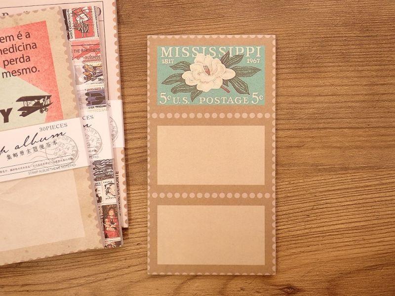画像2: 【ネコポスOK】 メモパッド トラベルシリーズ レター