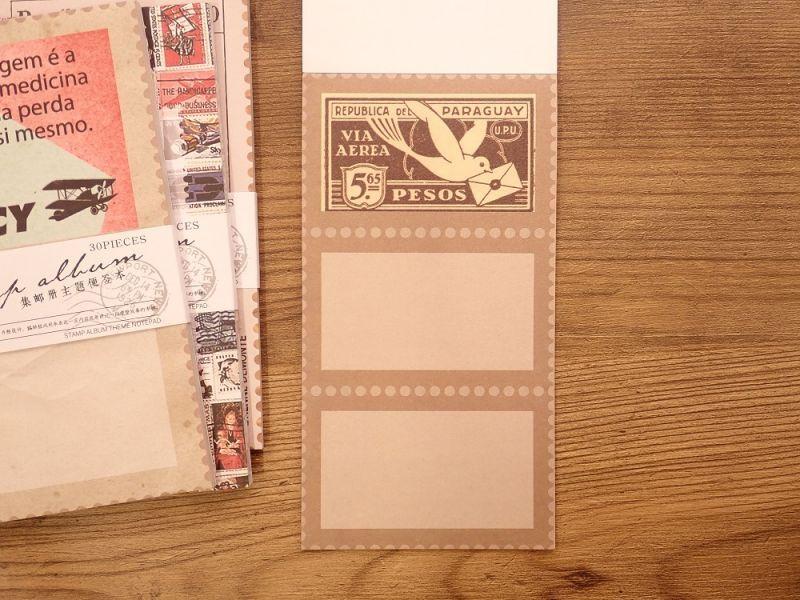 画像4: 【ネコポスOK】 メモパッド トラベルシリーズ レター