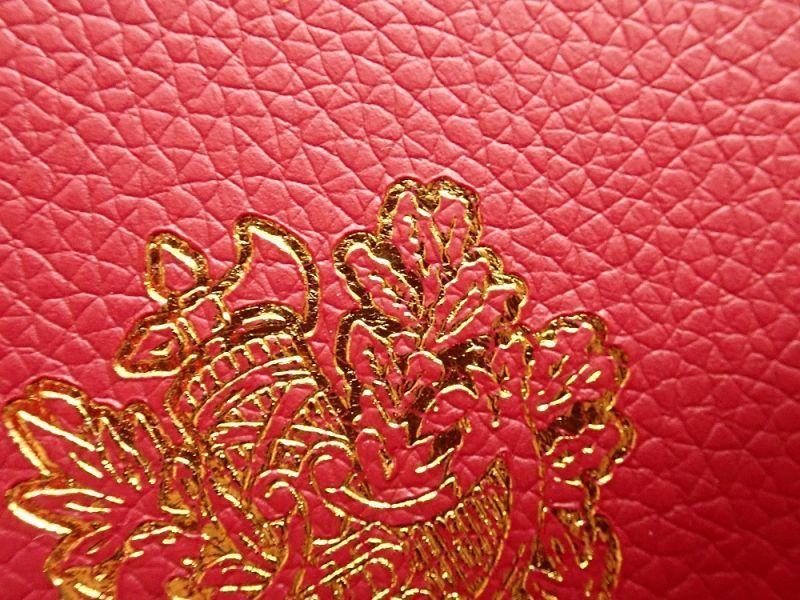 画像2: 【ネコポスOK】 パスポートカバー フランス レッド