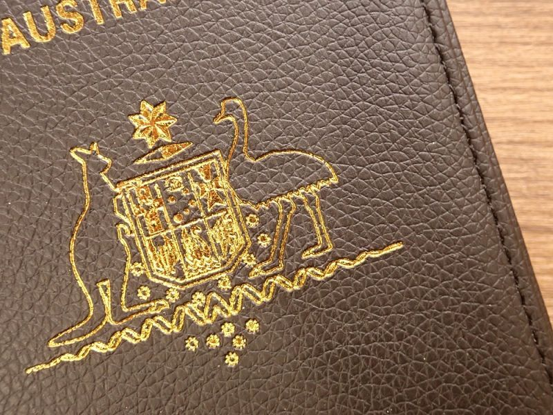 画像2: 【ネコポスOK】 パスポートカバー AUSTRALIA