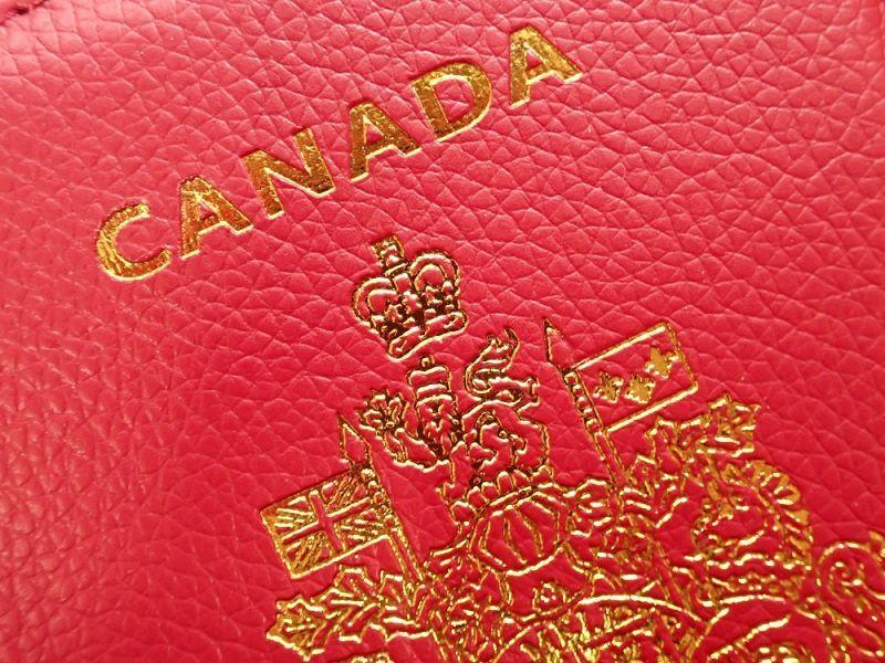 画像2: 【ネコポスOK】 パスポートカバー CANADA