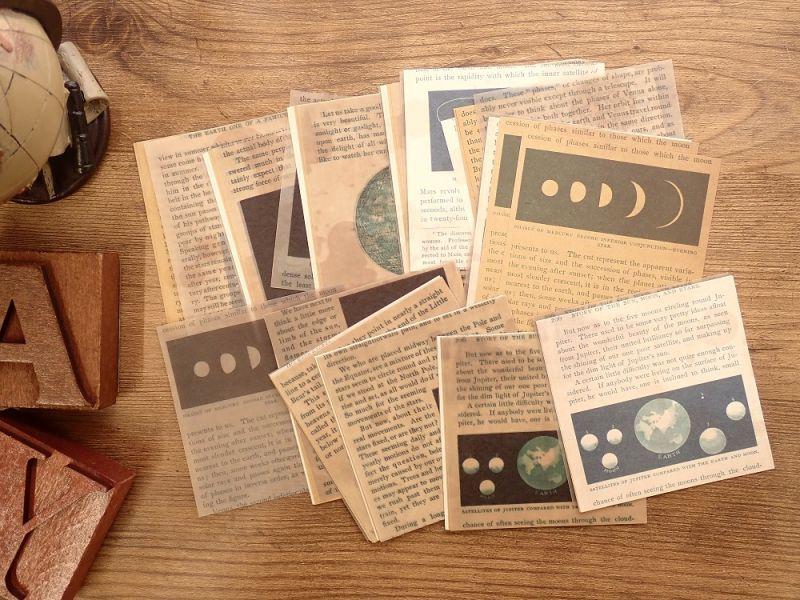 画像2: 【ネコポスOK】 ANTIQUE OLD NEWSPAPER 古新聞シリーズ G