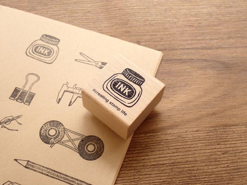 画像1: 【ネコポスOK】 I love stamp series インク