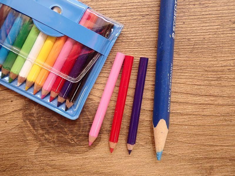 画像3: 【ネコポスOK】 MINI COLOR 12/ミニ色鉛筆セット イエロー