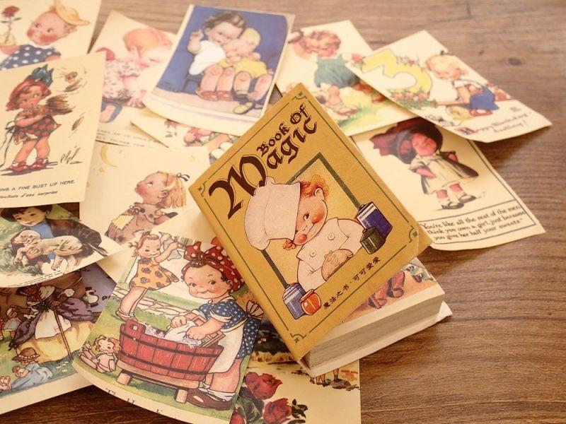 画像3: 【ネコポスOK】 素材ペーパー集 本シリーズ キュート