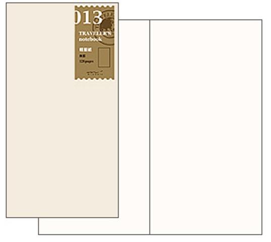 画像3: 【ネコポスOK】 トラベラーズノート リフィル レギュラー[013] 軽量紙